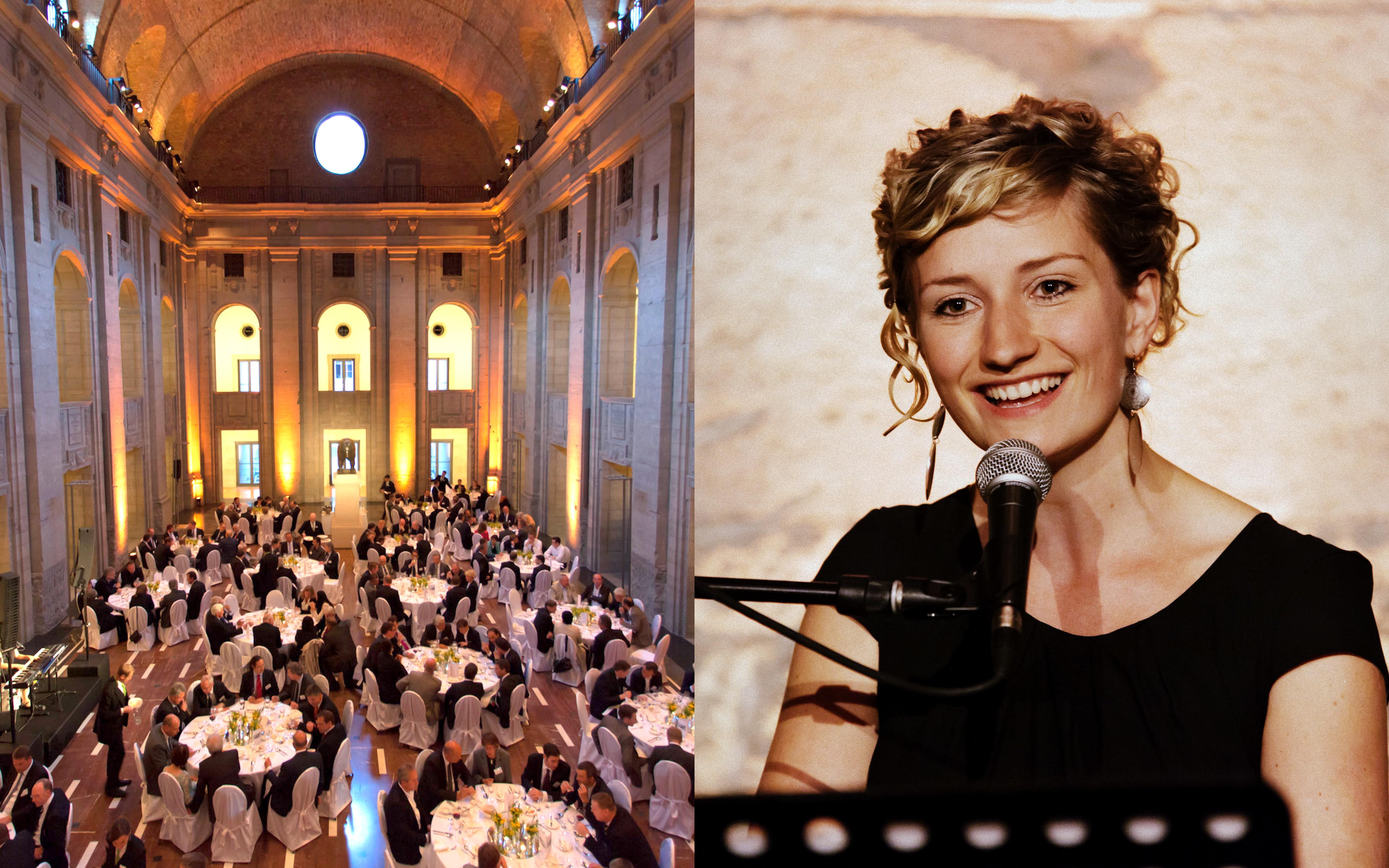 Sängerin Berlin Firmenfeier Hochzeit Anne Fraune