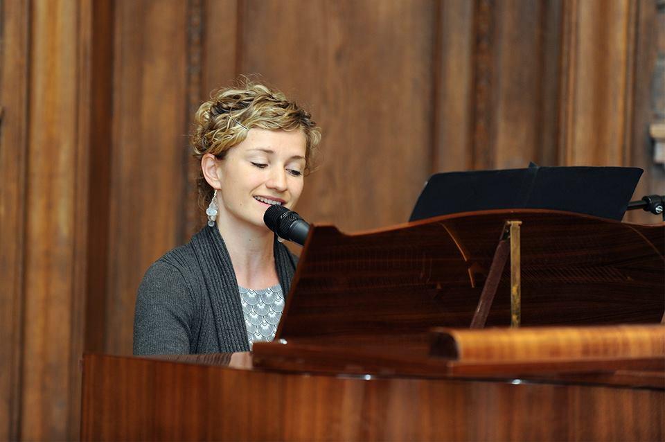 Sängerin Anne Fraune Berlin Firmenfeier