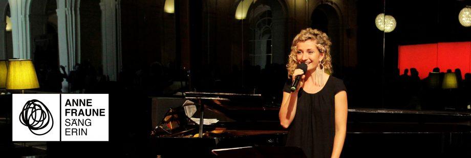 Sängerin Anne Fraune Firmenfeier Event Dinnermusik